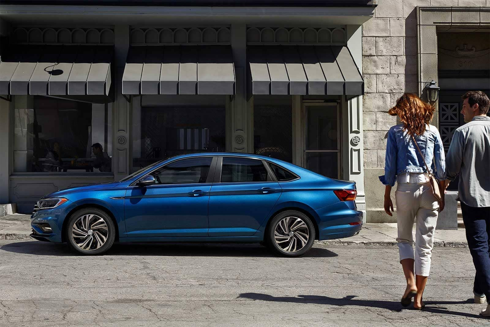 2019 VW Jetta Parked