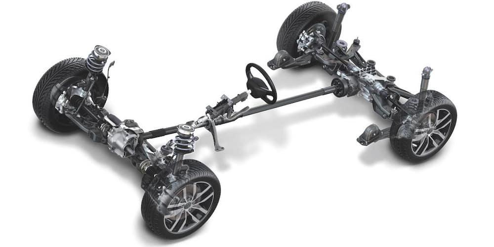 VW 4MOTION AWD Drivetrain Image