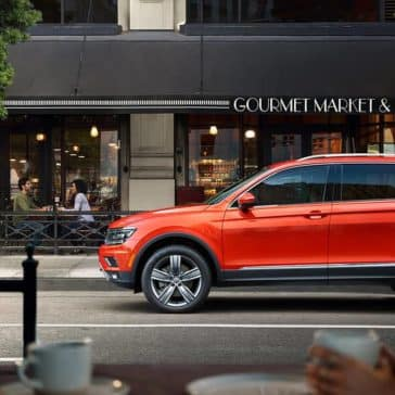 2019 VW Tiguan In City