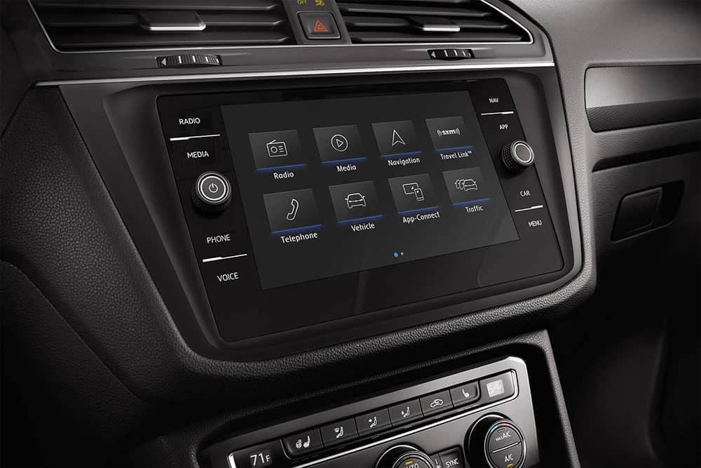 2019 VW Tiguan Technology