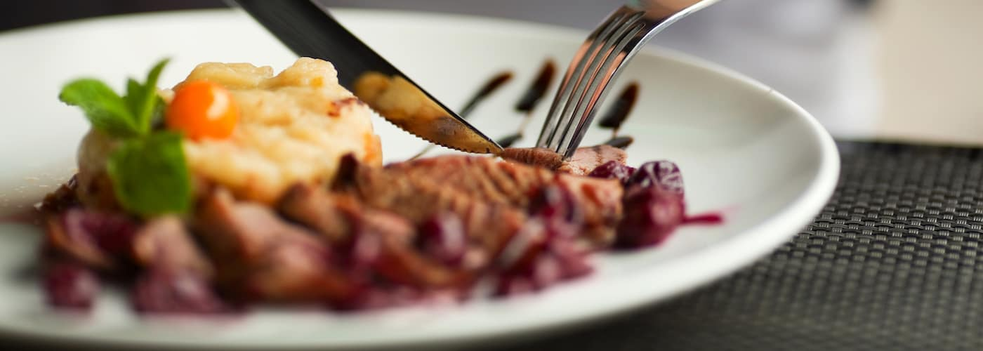 Dinner on Plate