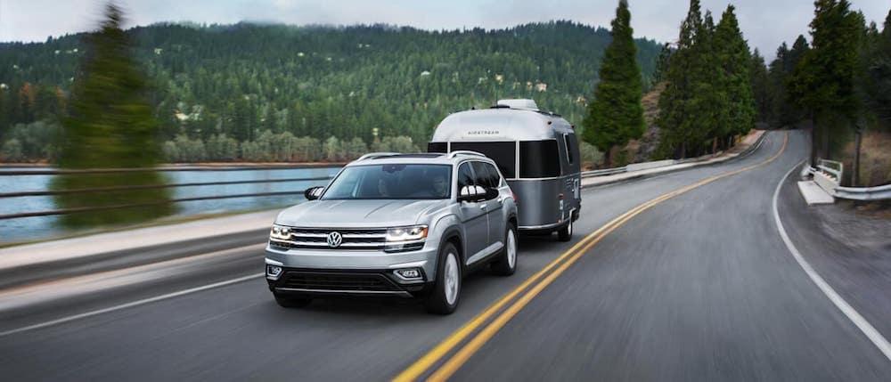 2019 Volkswagen Atlas Towing Trailer