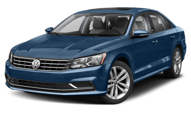 2019 VW Passat Blue