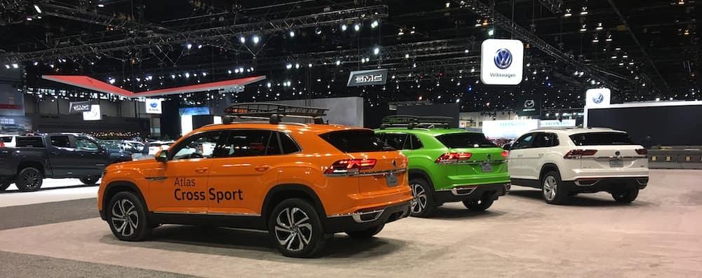 VW Atlas Cross Sport Chicago Auto Show