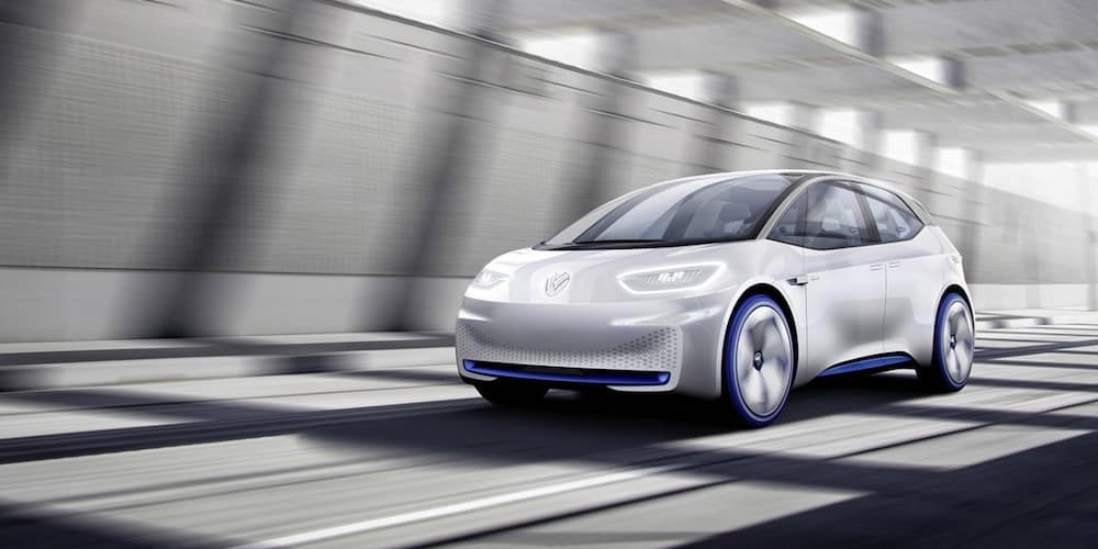 VW ID Concept in tunnel