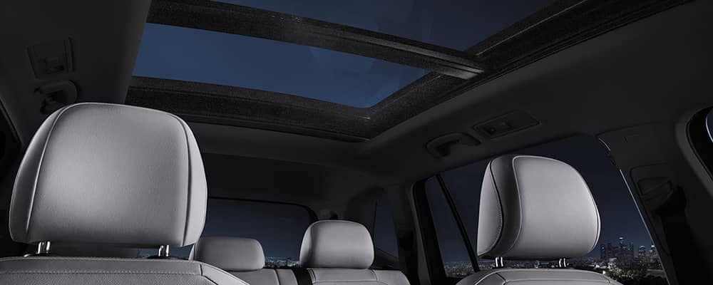 2020 VW Tiguan Interior with Moonroof