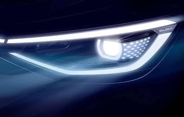 VW ID 4 Concept Headlight