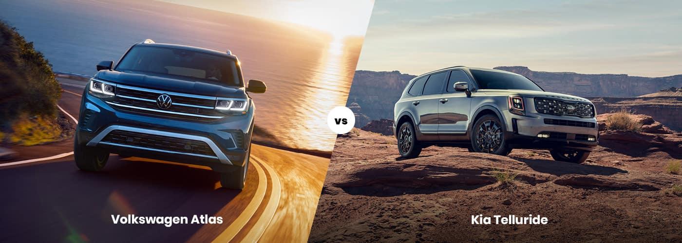 Volkswagen Atlas vs. Kia Telluride
