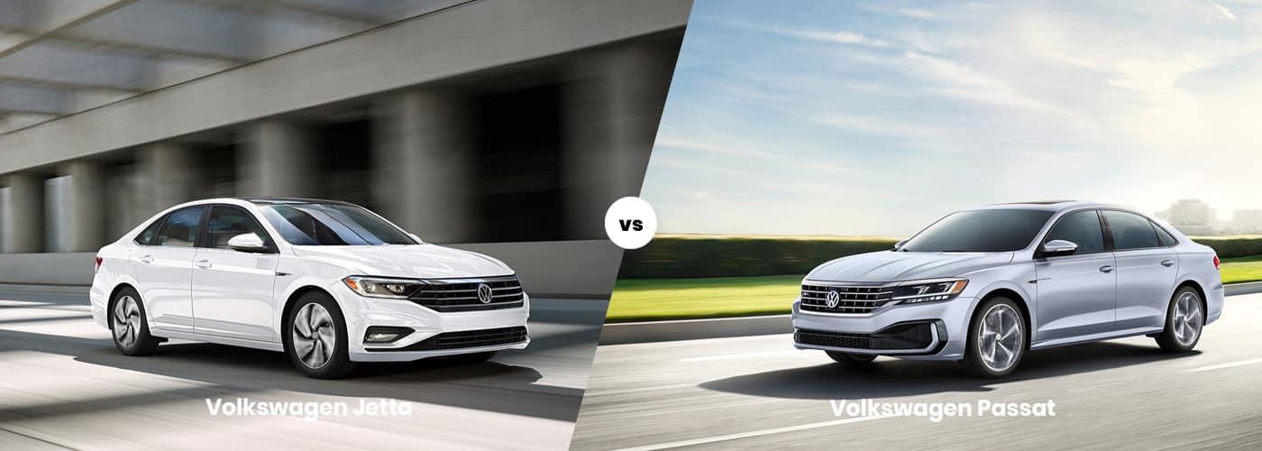 Volkswagen Jetta vs Volkswagen Passat