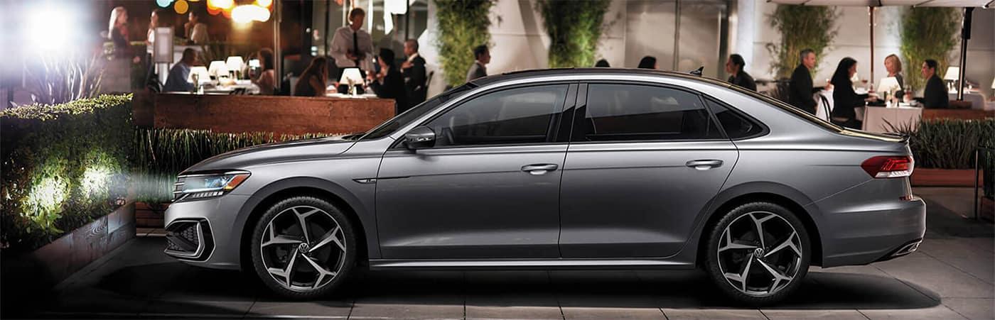 Volkswagen Passat Side Profile Parked