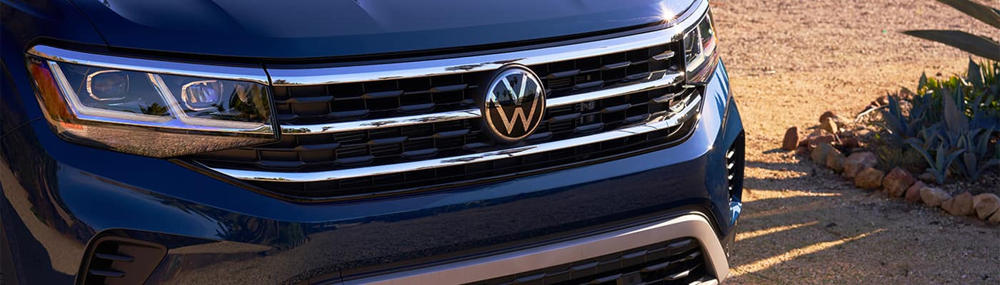 Closeup Volkswagen Atlas Logo