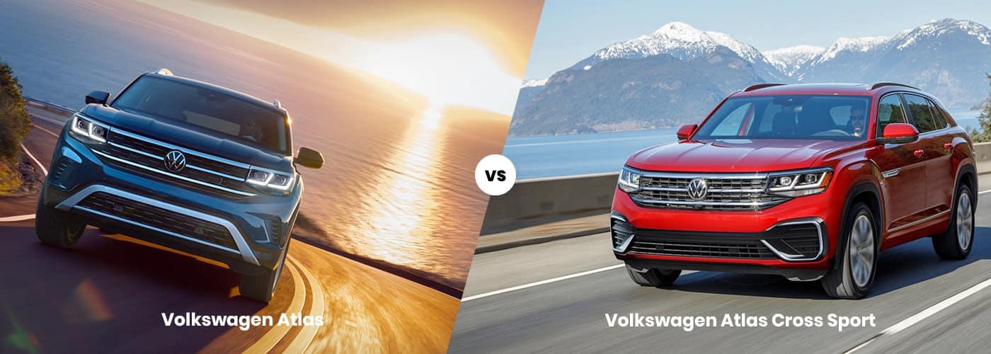 Volkswagen Atlas vs. Atlas Cross Sport