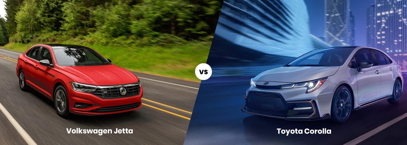 Volkswagen Jetta vs. Toyota Corolla