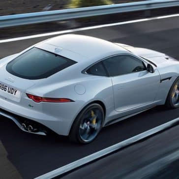 2019 Jaguar F-Type R bird's eye view