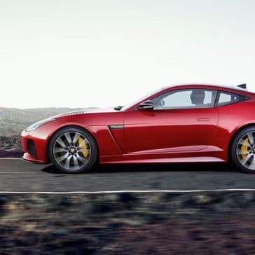 2019 Jaguar F-Type SVR side profile