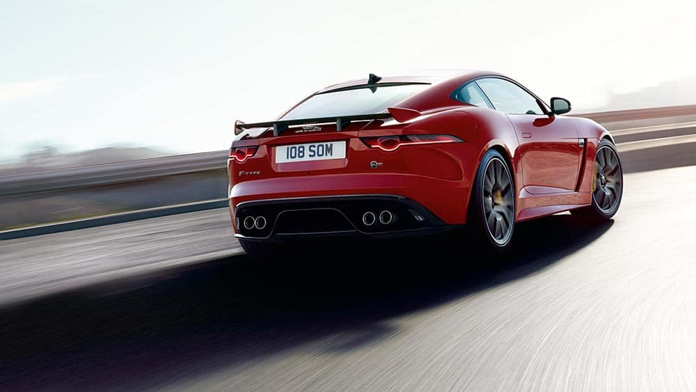 2019 Jaguar F-Type SVR rear end