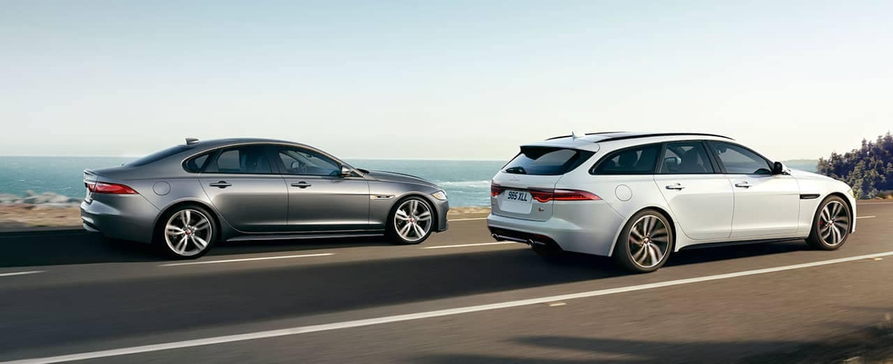 2018 Jaguar XF Sportbrake and Sedan