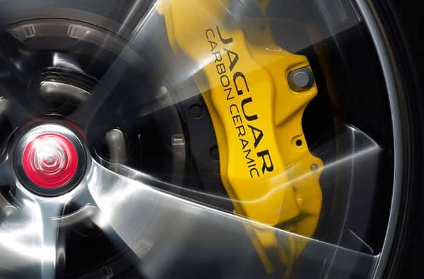 2019 Jaguar F-TYPE carbon ceramic brakes