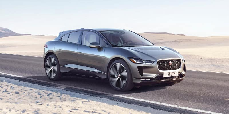 2019. Jaguar I-Pace on road