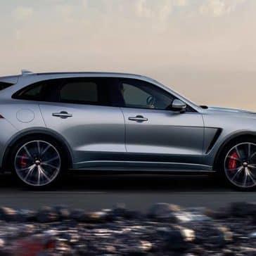 2019 Jaguar F-Pace Parked