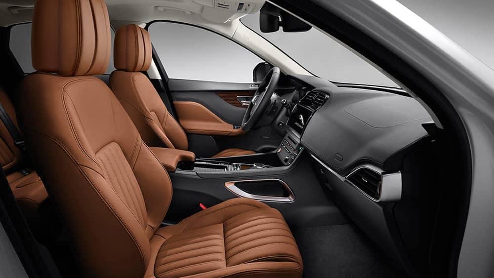 2019 Jaguar F-Pace Cabin