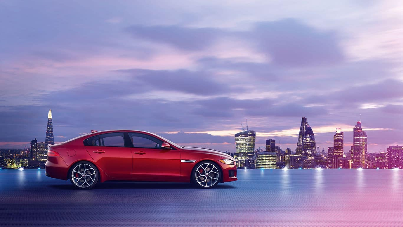 2019 Jaguar XE Red