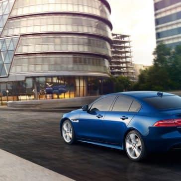 2019 Jaguar XE Blue