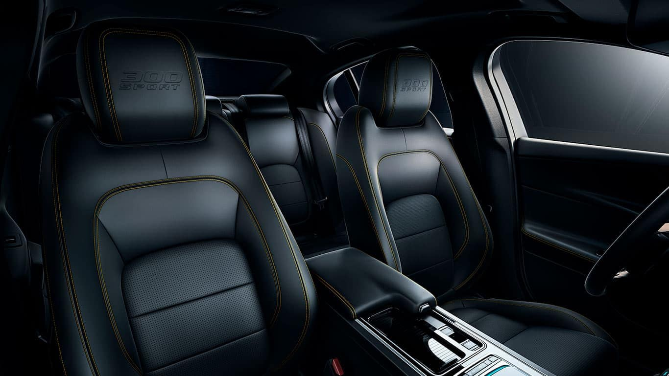 2019 Jaguar XE Seats