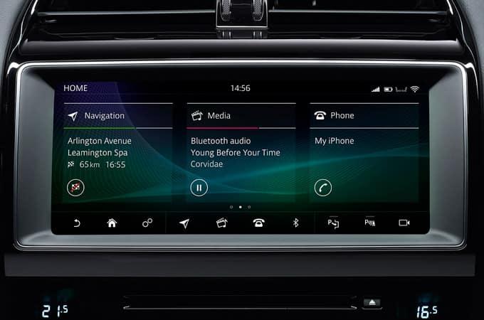 jaguar xe infotainment