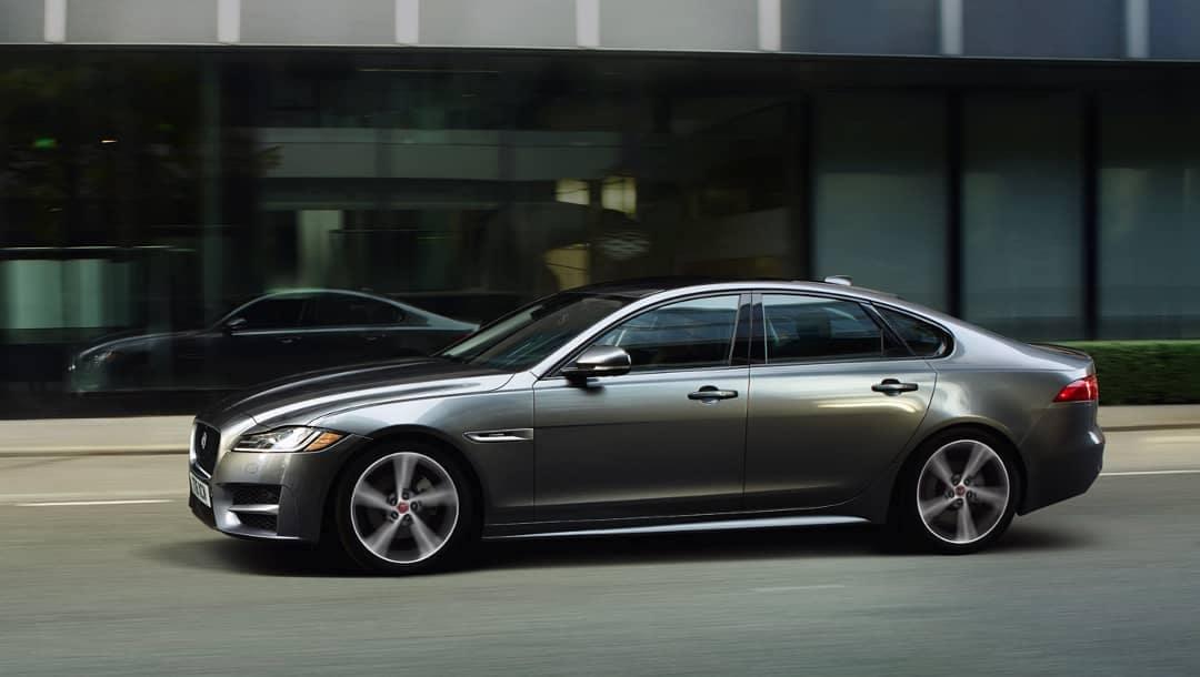 2019 Jaguar XF side profile