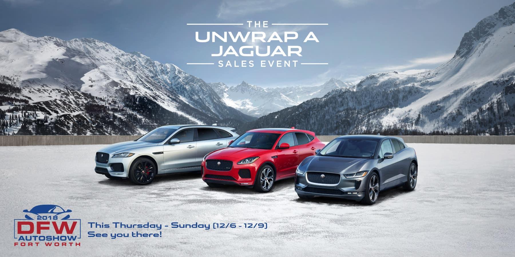 Autobahn Jaguar | Urwrap a Jaguar Sales Event