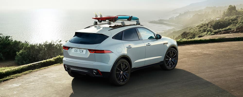 jaguar e-pace with roof rack