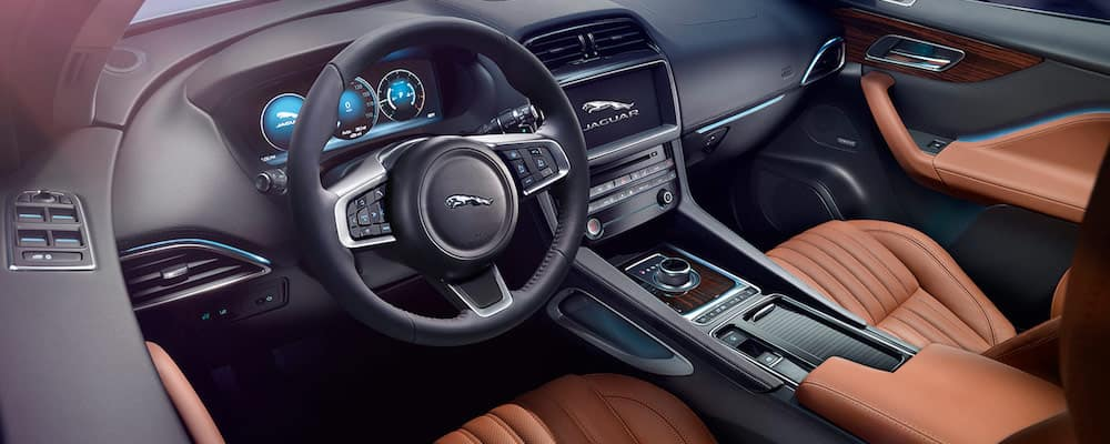 2019 f-pace front interior and dash