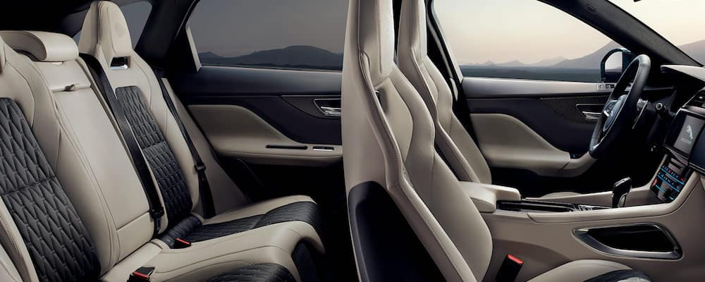 2019 f-pace interior side view