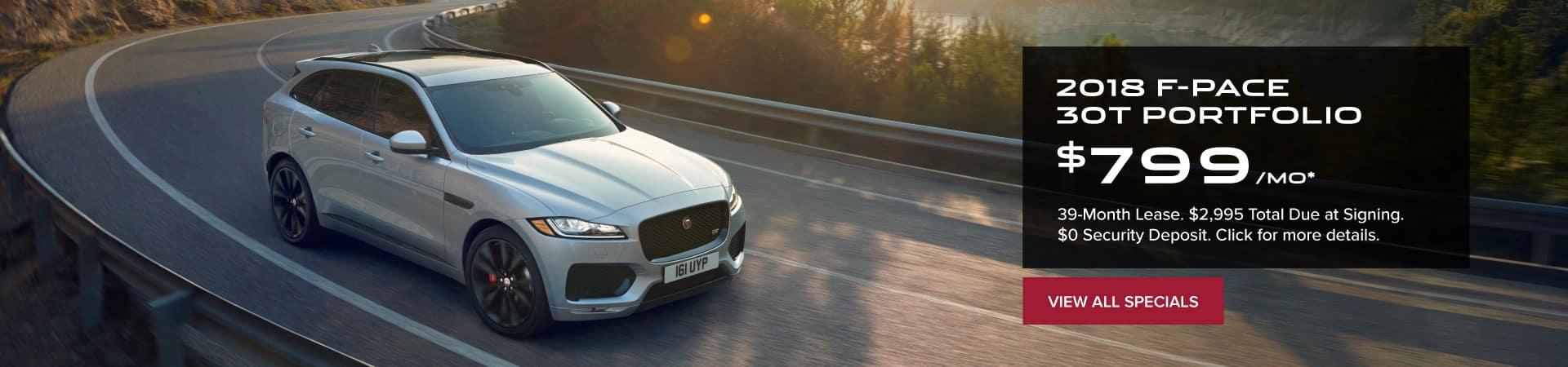 Autobahn Jaguar | F-PACE Lease - $799