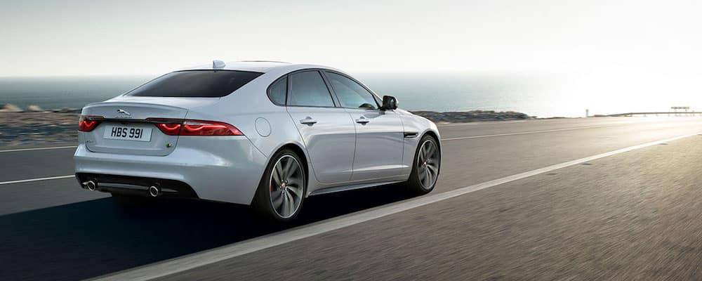 2019 xf driving down highway