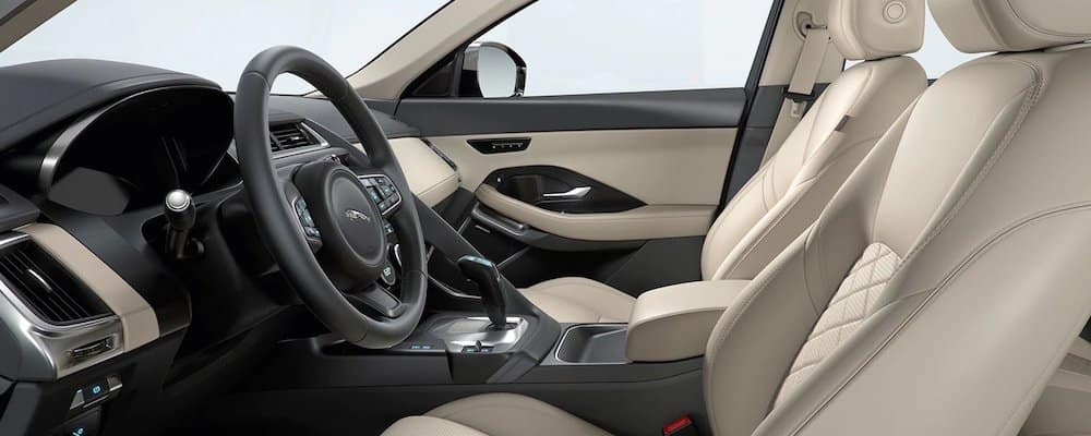2019 e-pace front seats and dashboard