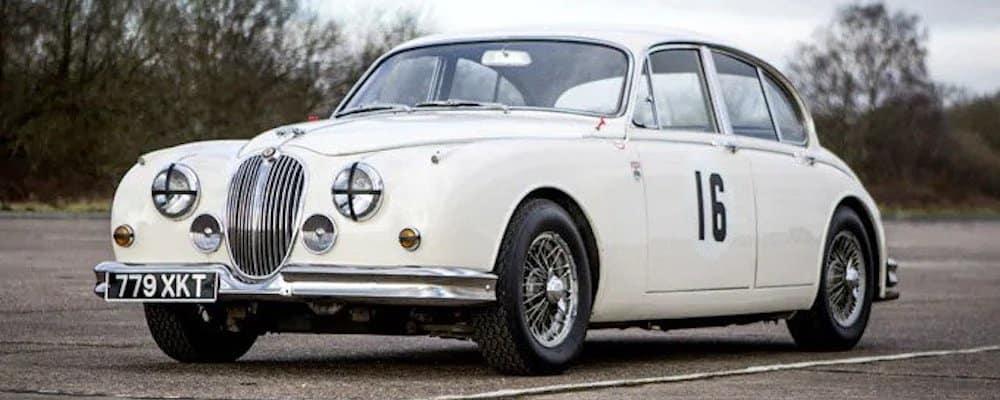 classic 1960s jaguar model