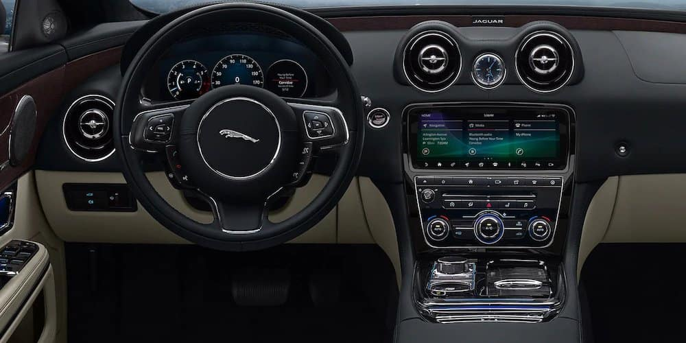 2019 Jaguar XJ Front Interior and Dash