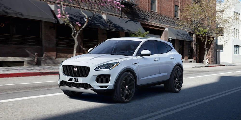 2019 Jaguar E-PACE on City Street
