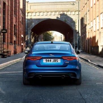 2020 Jaguar XE Near Tunnel