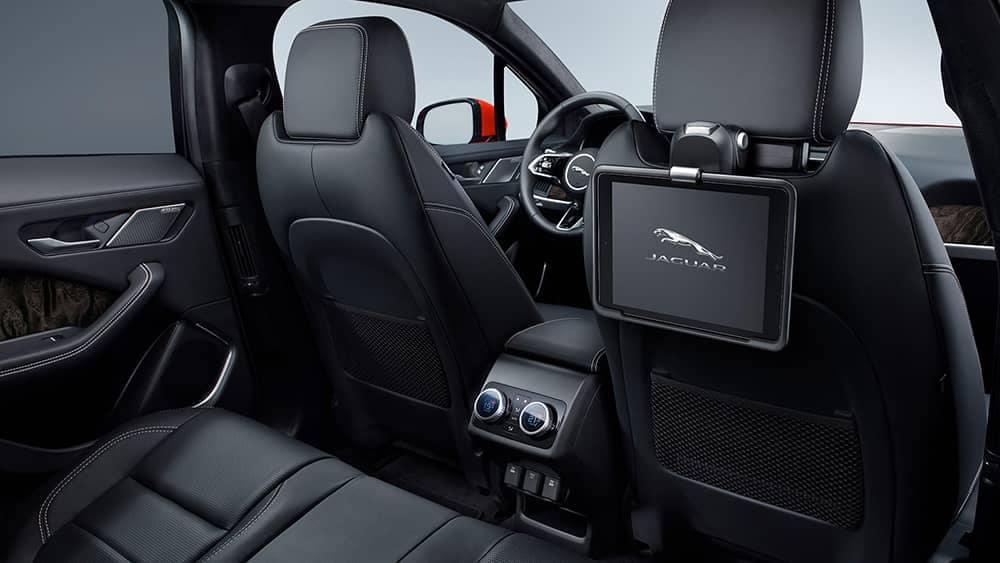 2020 Jaguar I-PACE Rear Entertainment