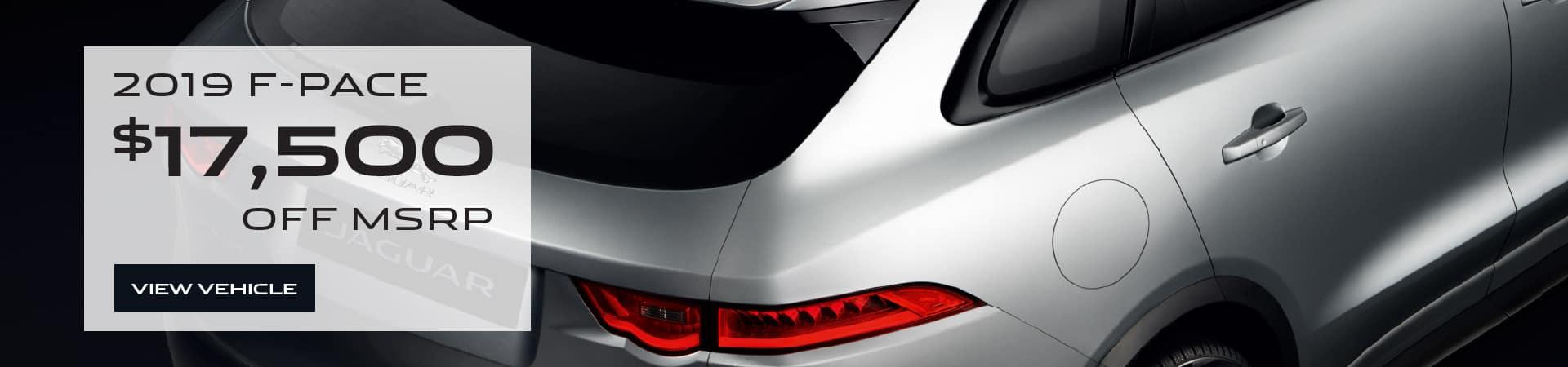 Autobahn Jaguar Fort Worth - F-PACE $17,500 off MSRP