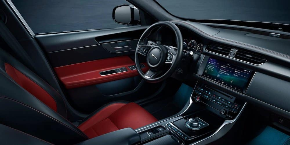 2020 Jaguar XF Checkered Flag Interior