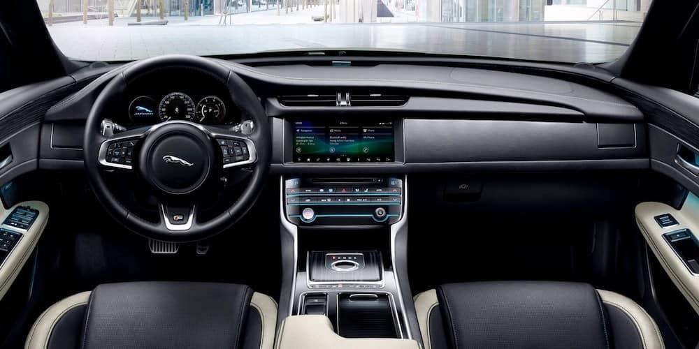 2020 Jaguar XF Front Interior