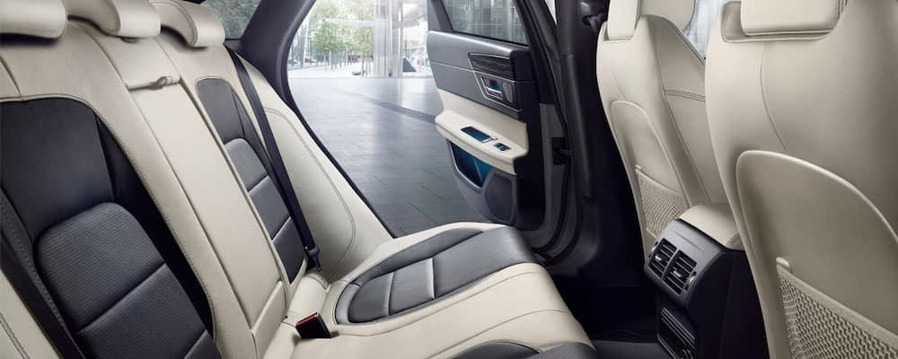 2020 Jaguar XF Rear Interior
