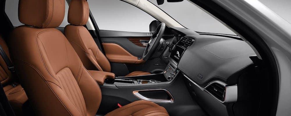 2020 Jaguar F-PACE Front Seats