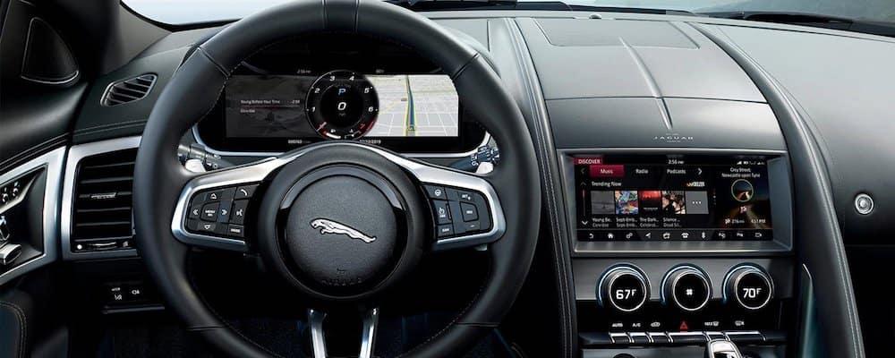 2021 Jaguar F-TYPE Front Dash