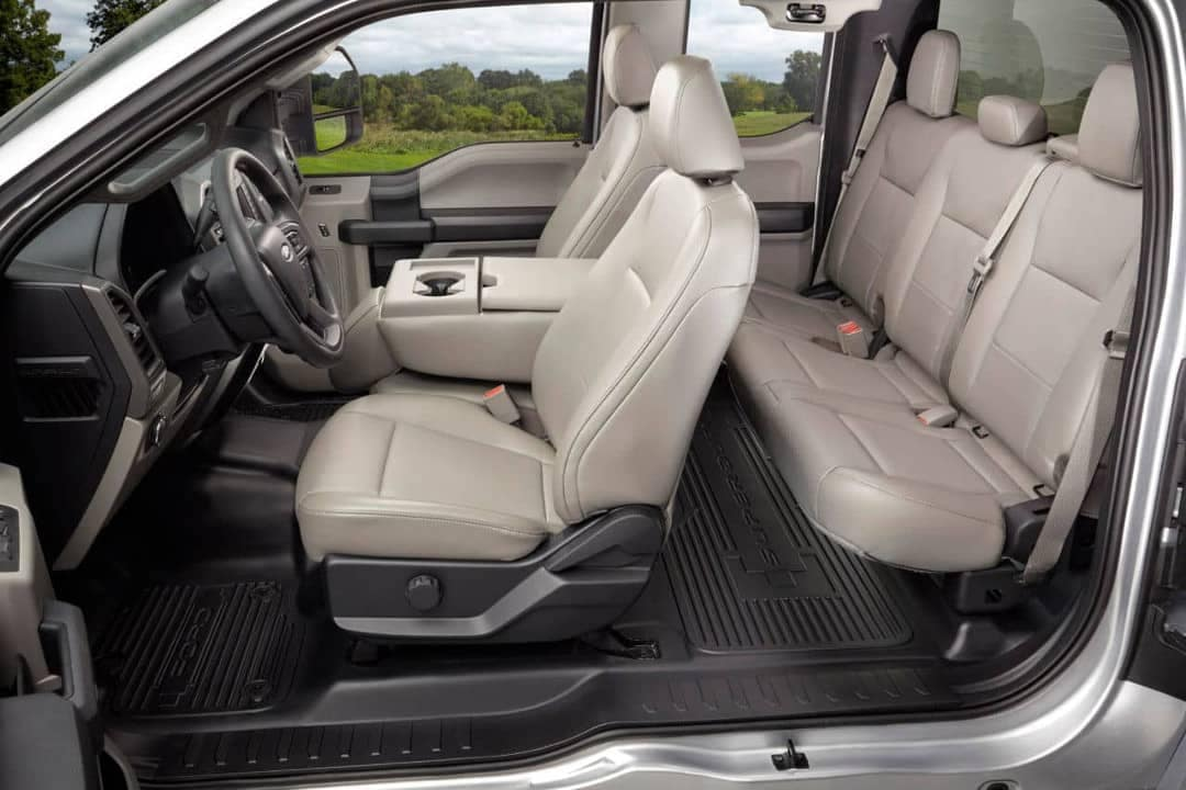 2018 Ford Chassis Cab Four-Door Interior