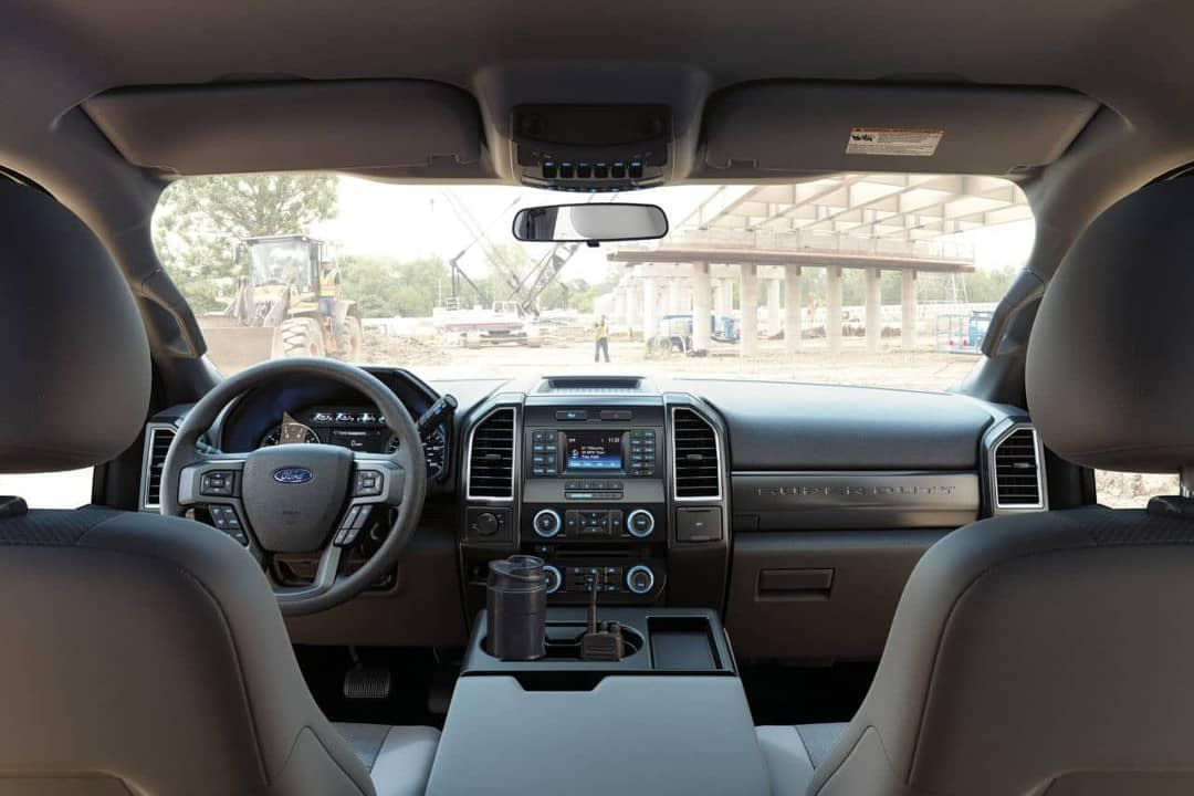 2018 Ford Chassis Cab Interior Dashboard